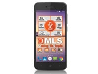 "MLS Fashion 8C 5"" Μαύρο Dual Sim Smartphone"
