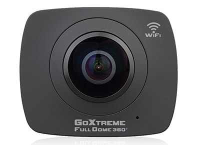 Action Camera GoXtreme Full Dome Double 360 Panorama WiFi