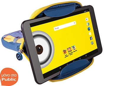 "Tablet eStar Themed 8"" 8GB με θήκη Dave (Minions)"