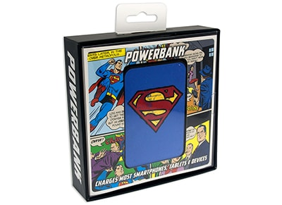 Powerbank USB - Power BANK Superman 5000 mAh 2.1A