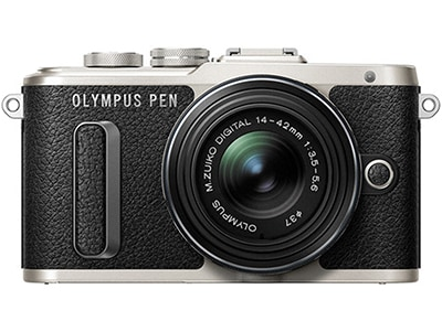 Mirrorless Camera Olympus E-PL8 Kit 14-42mm EZ Pancake - Μαύρο