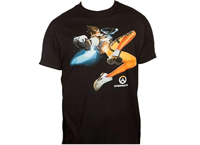 T-Shirt Jinx Overwatch The Cavalry's Here Μαύρο - S
