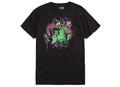 T-Shirt Jinx World of Warcraft Gul'dan Destroyer of Dreams Μαύρο - S