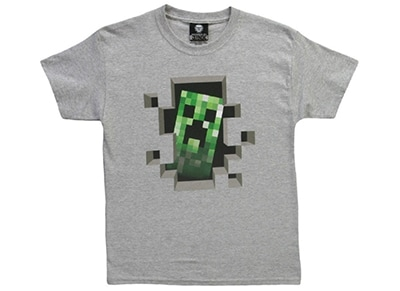 εικόνα για  T-Shirt Jinx Minecraft Creeper Inside - Παιδικό 5-6