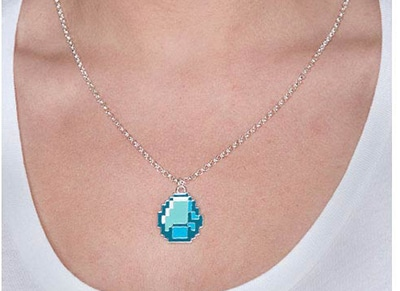 Περιλαίμιο Jinx Minecraft Diamond - Πράσινο gaming   gaming cool stuff   merchandise