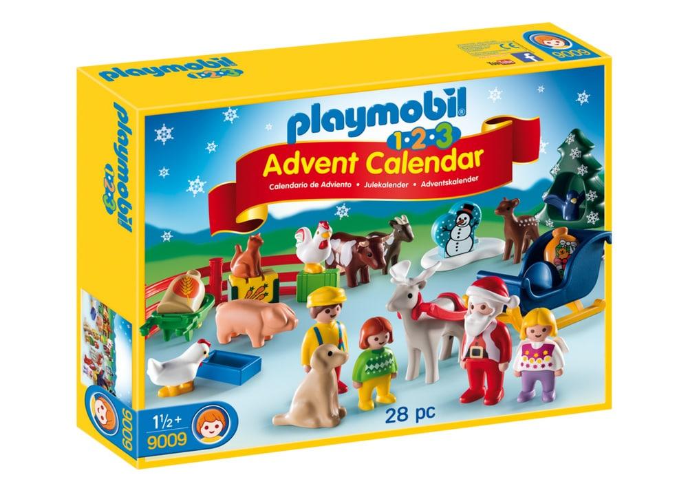 PLAYMOBIL 9009 Χριστουγεννιάτικο Ημερολόγιο 1 2 3 Χριστούγεννα στη Φάρμα