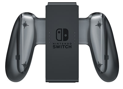 Nintendo Switch Charging Grip - Λαβή/Φορτιστής Χειριστηρίου Nintendo Switch Γκρι gaming   αξεσουάρ κονσολών   nintendo switch   cables   chargers