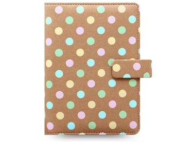 Οrganiser Σημειωματάριο Filofax Personal Patterns Pastel Spots