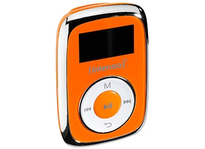 MP3 Player - Intenso Music Mover 8GB - Πορτοκαλί