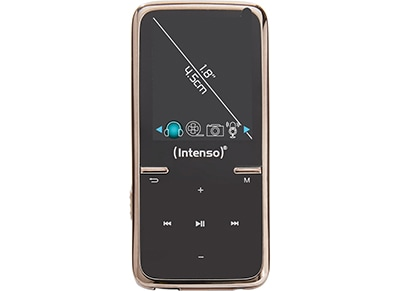 MP3 Player - Intenso 3717460 Video Scooter 1.8'' 8GB - Μαύρο