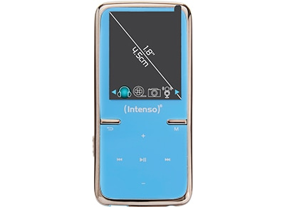 MP3 Player - Intenso 3717464 Video Scooter 1.8'' 8GB - Μπλε