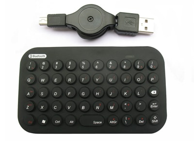 Gembird Bluetooth mini - Keyboard - Μαύρο