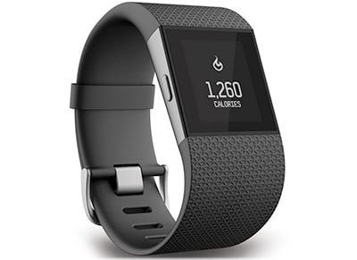 Smartwatch Fitbit Surge Extra Large Μαύρο