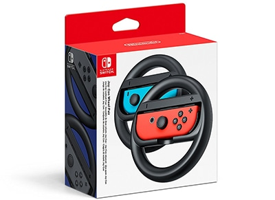 Nintendo Joy-Con Wheel - Τιμονιέρα Nintendo Switch Μαύρο