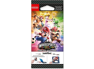 Κάρτες Mario Sports Superstars - Nintendo Amiibo