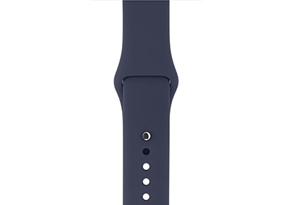 Apple Watch Series 2 38mm Sport Band - Midnight Blue wearables  drones   hitech   αξεσουάρ wearables