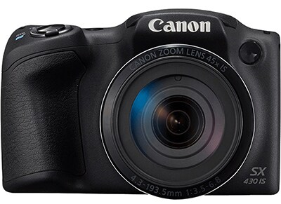 Compact Camera Canon Powershot SX430 IS Μαύρο