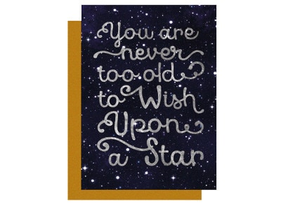 Ευχετήρια Κάρτα LEGAMI Unusual Greeting Card Wish Upon a Star