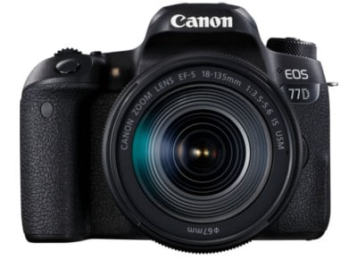 DSLR Canon EOS 77D EF-S 18-135mm IS USM φωτογραφία   βίντεο   dslr