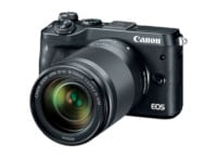 Mirrorless Camera Canon EOS M6 18-150mm Kit - Μαύρο