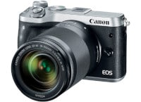 Mirrorless Camera Canon EOS M6 18-150mm Kit - Ασημί
