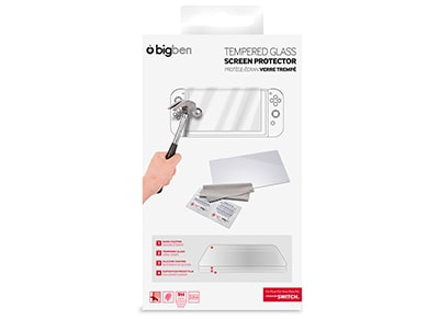 Big Ben Switch Tempered Glass Screen Protector - Προστασία οθόνης Nintendo Switc gaming   αξεσουάρ κονσολών   nintendo switch   cases