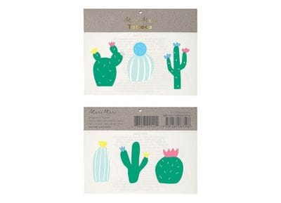 Tatoo Meri-Meri  Cactus Join The Party