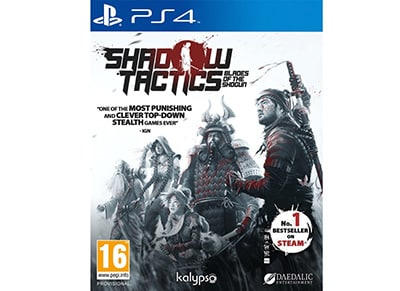Shadow Tactics: Blades of the Shogun - PS4 Game