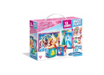 Παζλ Disney Princess Multiplay 3D (12 Κύβοι)