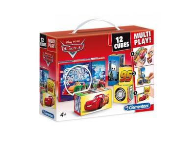 Παζλ Disney Cars Multiplay 3D (12 Κύβοι)