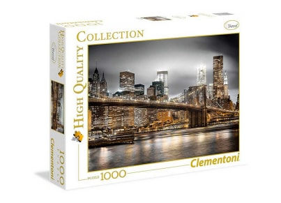 Παζλ New York Skyline - High Quality Collection Clementoni - 1000 Κομμάτια