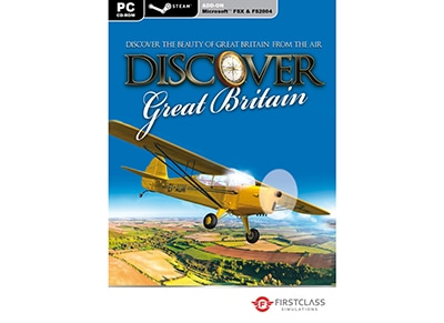 Discover Great Britain (Microsoft Flight Simulator X Add-On) - PC Game