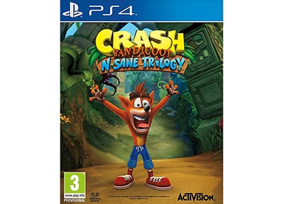 PS4 Used Game: Crash Bandicoot N. Sane Trilogy