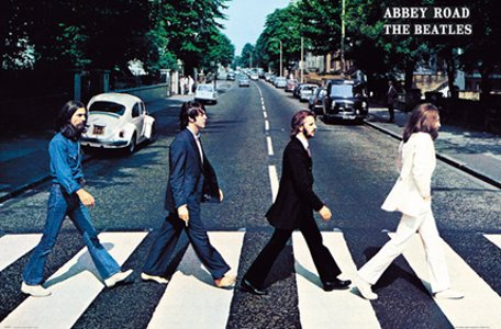 The Beatles Abbey Road Music Poster