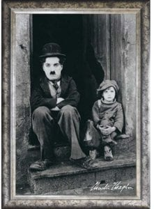 Charlie Chaplin [The Kid] Poster