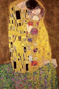 Gustav Klimt [The Kiss] Poster