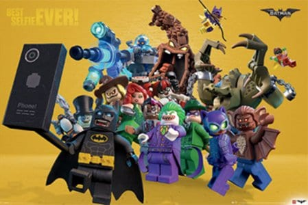 Lego Batman Best Selfie Ever Poster
