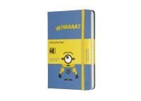 Σημειωματάριο Moleskine Minions Ruled Blue  - Small