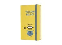 Σημειωματάριο Moleskine Minions Ruled Sun Flower Yellow - Small
