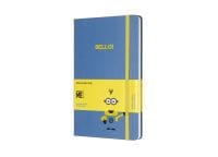 Σημειωματάριο Moleskine Minions Ruled Blue - Large