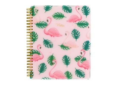 Σημειωματάριο Go Stationery Flamingo Polyprop - Large