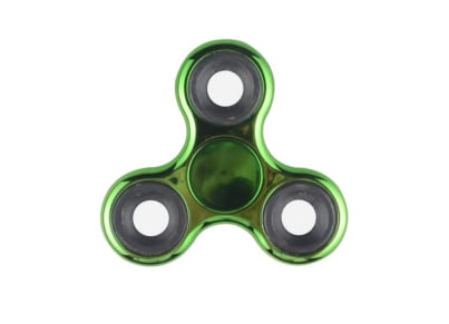 Fidget Spinner Electroplated Green