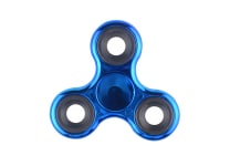 Fidget Spinner Electroplated Dark Blue