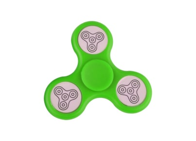 Fidget Spinner Led Green