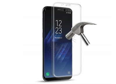 Προστασία οθόνης Samsung Galaxy S8+  Puro Full Edge Tempered Glass Protector