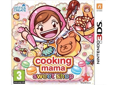 Cooking Mama: Sweet Shop- 3DS/2DS Game gaming   παιχνίδια ανά κονσόλα   3ds 2ds
