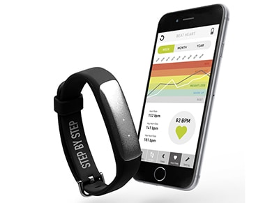 Activity Tracker SBS Beat Fit Style Μαύρο