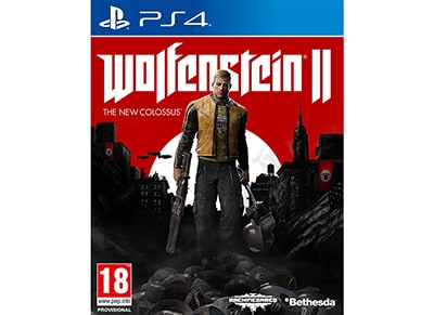 Wolfenstein 2: The New Colossus - PS4 Game
