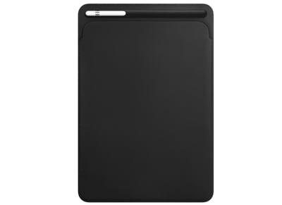 "Apple Leather Sleeve MQ0U2ZM/A Θήκη iPad Pro 12.9"" 2017 - Μαύρο"