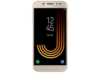 Samsung Galaxy J7 2017 16GB Χρυσό Dual Sim Smartphone